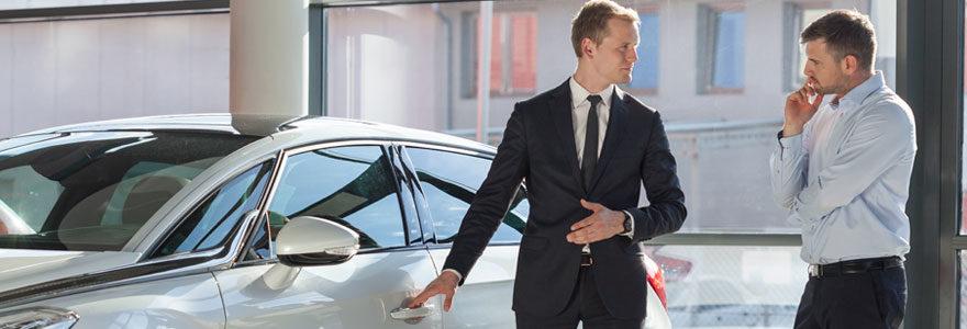 Trouver un revendeur de voitures d'occasion