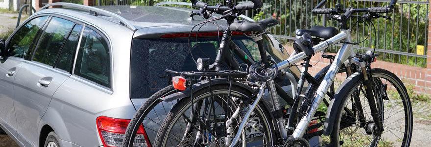 Un porte vélo